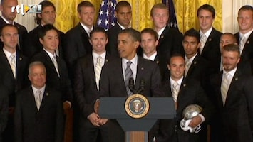 Editie NL Obama grapt over David Beckham