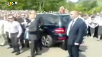 RTL Nieuws Russische president even controle kwijt