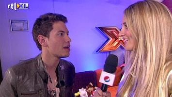 X Factor Rolf onder indruk van Gordon