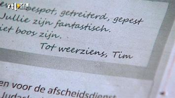 RTL Nieuws Tim pleegt zelfmoord vanwege pesten