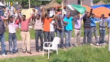 RTL Nieuws Somaliërs en Iraniërs blijven in kamp Ter Apel