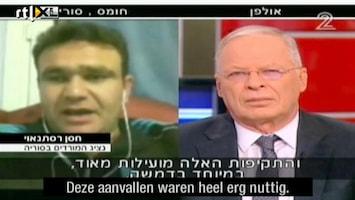 RTL Nieuws Syriër bedankt Israël op Israelische tv