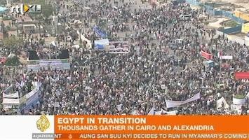 RTL Nieuws Opnieuw massademonstratie in Caïro