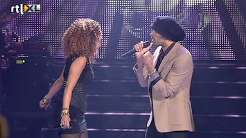 The Voice Of Holland: The Results Alain Clark & Sharon Doorson - Blow Me Away