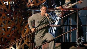 RTL Boulevard Backstage bij Robbie Williams in Amsterdam Arena