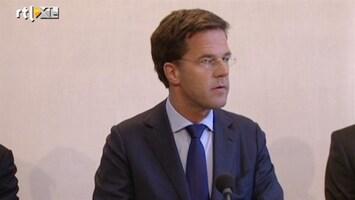 RTL Nieuws Rutte: PVV heeft niet de politieke wil