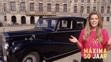 Zó ziet trouwauto Willem-Alexander en Máxima er vanbinnen uit