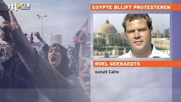 RTL Nieuws 'Drukte Tahrirplein neemt toe'