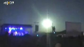RTL Nieuws Meteoriet tijdens popconcert Argentinië