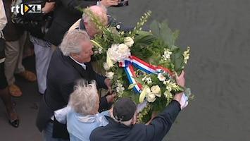 RTL Nieuws Tranen om verdwenen duikboot O13