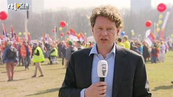 RTL Nieuws Protest tegen bezuinigingen sociale werkplaats