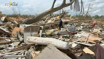 RTL Nieuws Alabama: voor en na de tornado's