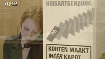 RTL Nieuws Huisartsen staken tegen Schippers