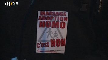 RTL Nieuws Weer Frans protest tegen homohuwelijk