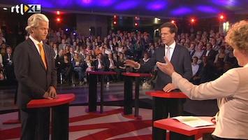 RTL Nieuws Laatste debat herhaling van standpunten