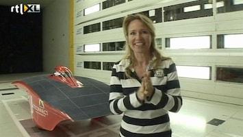RTL Nieuws Helga doet mee aan World Solar Challenge