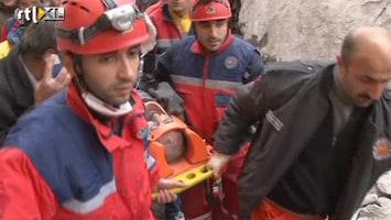 RTL Nieuws Reddingswerk naar aardbeving Turkije