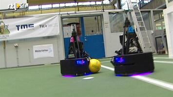 RTL Nieuws Oranje favoriet voor robocup voetbal