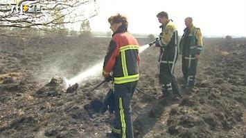 RTL Nieuws De Drentse brandweer aan het werk