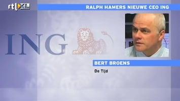 RTL Nieuws ING wil nieuwe topman aanstellen