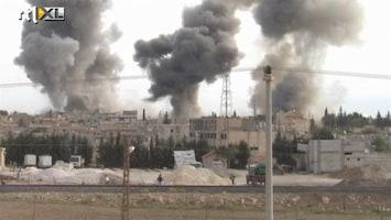 RTL Nieuws Syrië bombardeert opnieuw grensstad