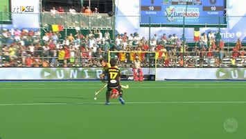 EK Hockey 2013 Belgie - Spanje (heren)