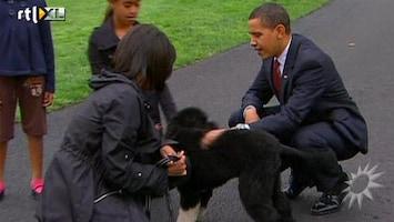 RTL Boulevard Obama's hebben een nieuw gezinslid