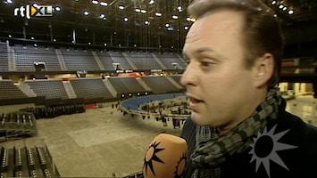 RTL Boulevard Frans Bauer bereidt zich voor op Ahoy