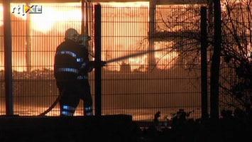 RTL Nieuws Deel scholencomplex Arnhem brandt uit