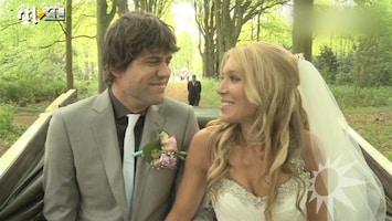 RTL Boulevard Simon over bruiloft en huwelijksreis