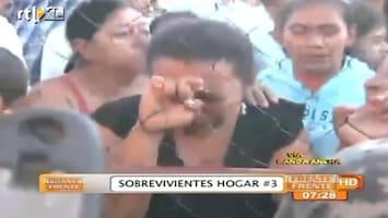 RTL Nieuws Familie gevangenen in tranen na brand Honduras