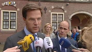 RTL Nieuws VVD en PvdA hebben vertrouwen in samenwerking