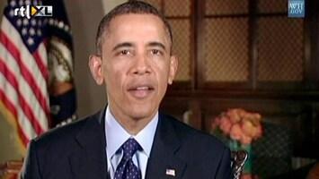RTL Nieuws Obama tekent fors pakket bezuinigingen