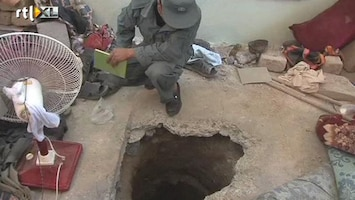 RTL Nieuws Talibanstrijders ontsnappen via tunnel