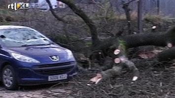 RTL Nieuws Extreem weer legt Schotland lam