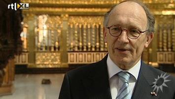 RTL Boulevard Fred de Graaf over de inhuldiging in de Nieuwe Kerk