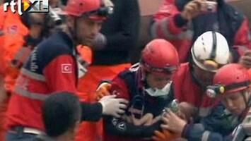 RTL Nieuws Baby gered uit puin na aardbeving Turkije