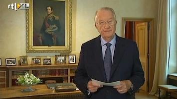 RTL Nieuws Hele toespraak van Koning Albert II