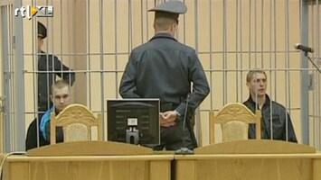 RTL Nieuws Europa woedend om executie in Wit-Rusland