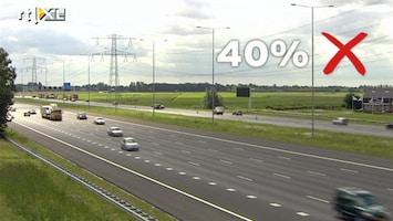 RTL Nieuws Maatregel km-vergoeding kost zo'n 50 euro