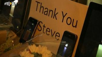 RTL Nieuws Digitale kaarsjes voor Steve Jobs