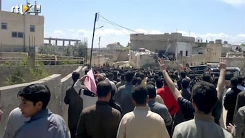 RTL Nieuws Syriërs gaan weer de straat op