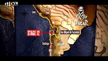 Rtl Gp: Dakar 2012 - Dakar Update 17 Januari