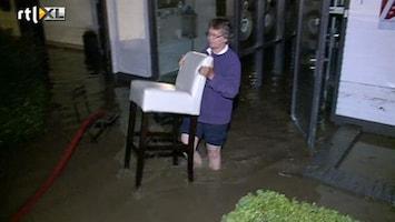 RTL Nieuws Ravage door vloedgolf in Slenaken
