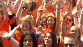 RTL Nieuws Oranje massa feest op Museumplein