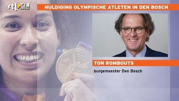 RTL Nieuws Burgemeester Den Bosch: Fontein is omgetoverd in gouden medaille