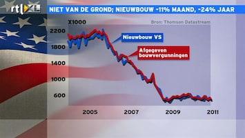 RTL Z Nieuws 15:00 Nieuwbouw Amerika daalt met 24% op jaarbasis
