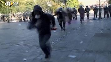 RTL Nieuws Opnieuw rellen in Athene
