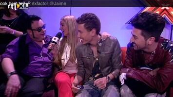 X Factor Ed 'kijkt' op zijn manier.