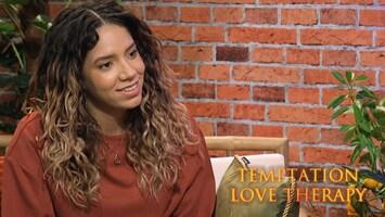 Love Therapy: Liyah reageert op zoen Greg en Tyra